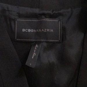 Black BCBG vest dress Large